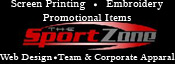The SportZone ~ For All Your Promotional Needs ~ The SportZone strives to be your promotional and wearables headquarters.  We specialize in over 500,000 promotional products and specialty items with everything from caps and jackets to wall calendars, without draining your pocket book. We also offer custom screen-printing and embroidery with your logo or brand delivered in a timely manner with superior quality.